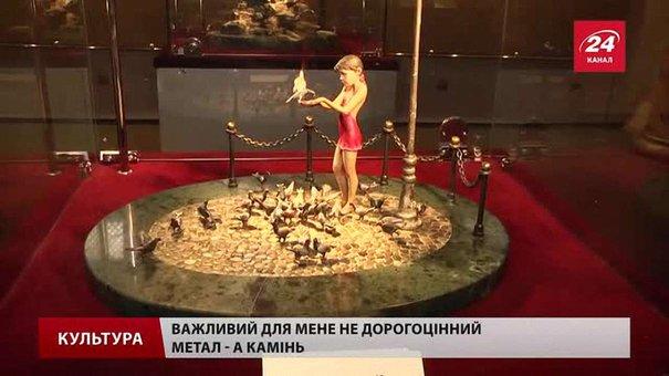 Олександр Мірошніков із Львівщини створює дорогоцінні ювелірні композиції