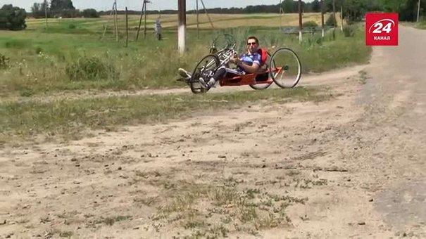Хлопець із ДЦП в суботу вирушає у велоподорож зі Львова до Лісабона
