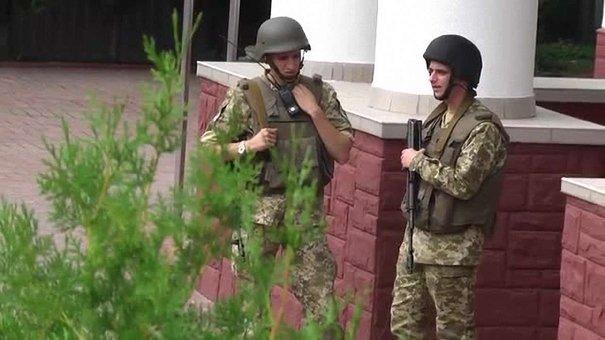 У львівському управлінні Держприкордонслужби проводять обшук