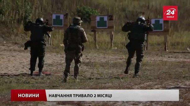 Нацгвардія випустила перших українських інструкторів