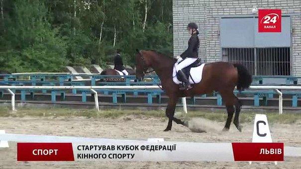 Львівські вершники змагаються у витонченій дисципліні – кінній виїздці