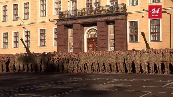 Кожен п'ятий першокурсник військової академії – учасник АТО