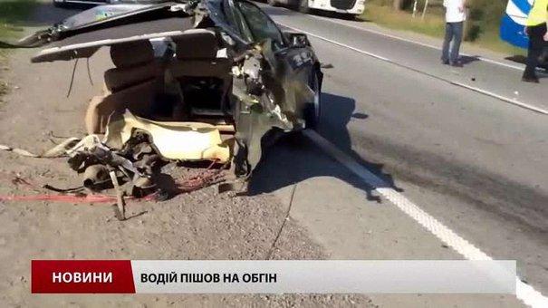 BMW міг розколотись після ДТП на Львівщині через шахрайство автомайстрів