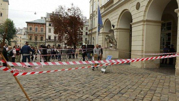 У Львові пікетували проти незаконних забудов