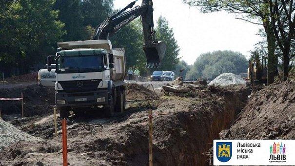 У Львові розпочали реконструкцію вулиць Пулюя і Трускавецької