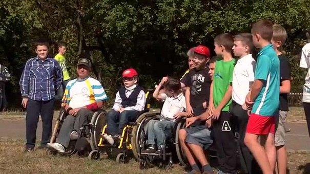 Лучники-паралімпійці провели майстер-клас для львівських школярів