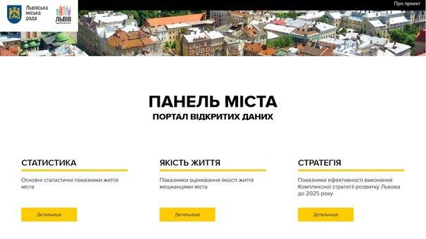 Львівська міськрада відкрила доступ до бази даних розвитку міста