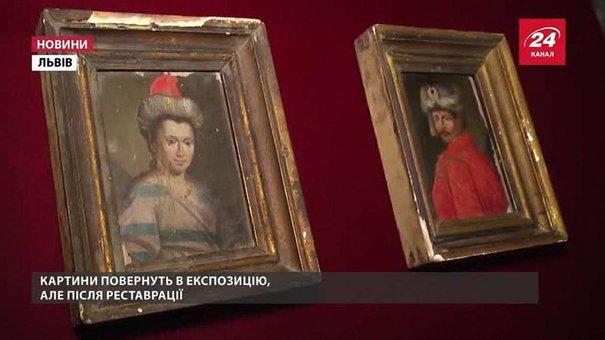 До Львівського музею повернули викрадені за Союзу картини