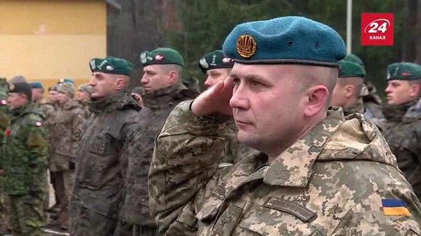 На Львівщині стартували міжнародні військові навчання «Кленова арка 2016»