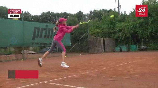 Львівські тенісистки привезли два «золота» з юніорських рейтингових турнірів