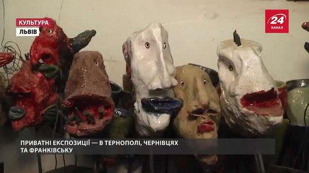 З цвяхів, дерева та металу львів'янин Богдан Кухарський творить мистецтво