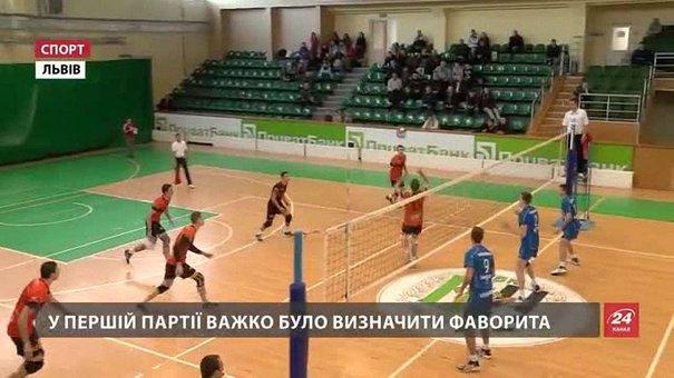 Перемоги над «Дніпром» закріпили «Кажанів» на першій позиції волейбольної Суперліги