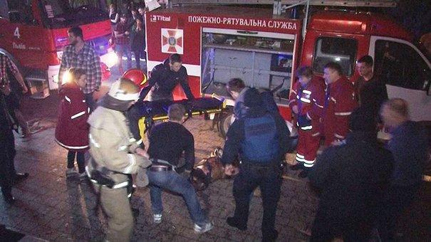У Львові помер 47-річний чоловік, який обгорів під час пожежі в клубі МІ100