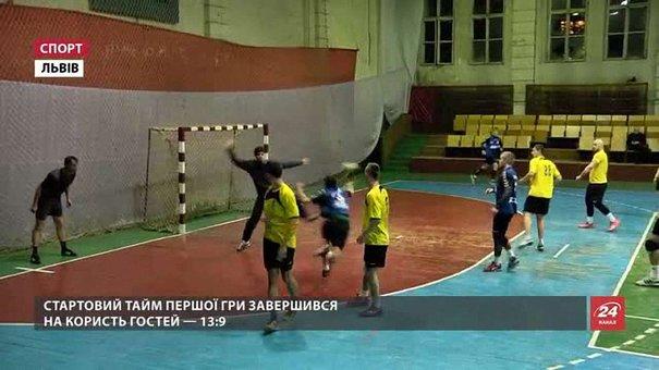 Львівські гандболісти двічі поступилися «Буревіснику» із Запоріжжя