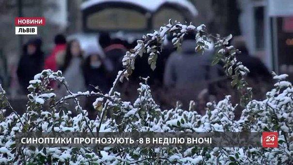 На вихідних у Львові прогнозують мороз та ожеледицю