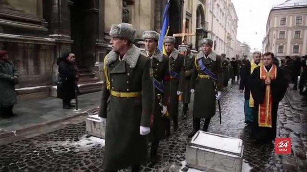 У Львові попрощались з героєм АТО – майором Михайлом Лібруком