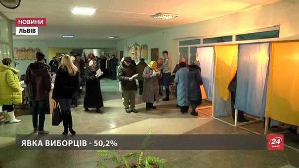 На Львівщині на виборах до ОТГ чотири рази викликали поліцію через дії членів ДВК