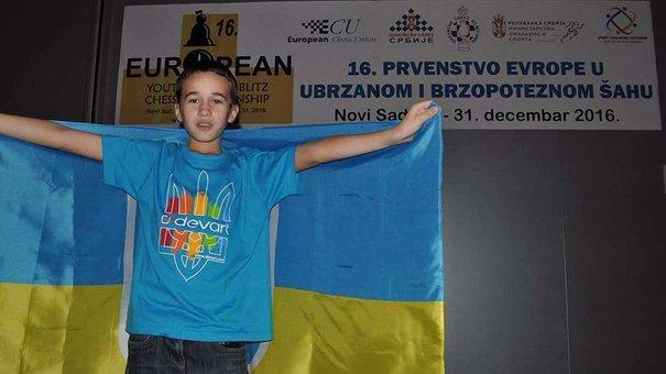 10-річний львів'янин – срібний призер чемпіонату Європи зі швидких шахів