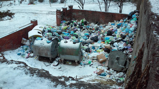 Мер Львова просить міжнародні екологічні організації допомогти вивезти сміття з міста