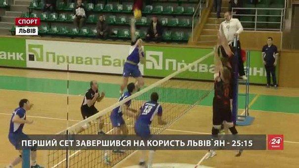Львівські «Кажани» двічі обіграли чернігівський «Буревісник»