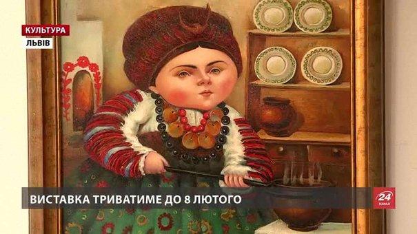 «Україну у портретах» показує львівська художниця Галина Константюк