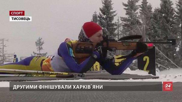 У Тисовці відбирають юнацьку команду на чемпіонат світу з біатлону