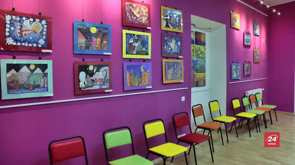 Для львівських школярів відкрили дитячу художню галерею