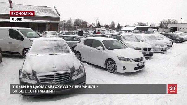 Львівська митниця оформила рекордну кількість машин після зменшення акцизів