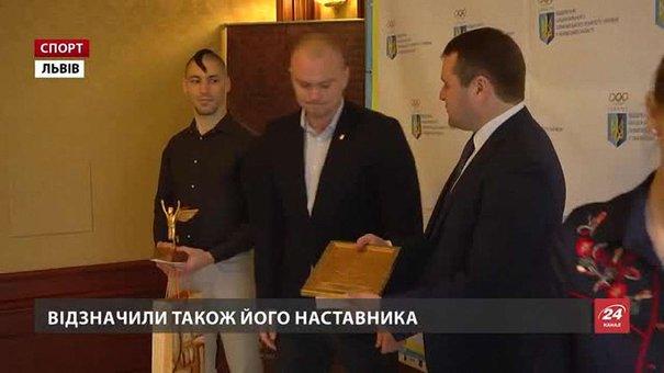 Станіслава Горуну нагородили як найкращого львівського спортсмена січня