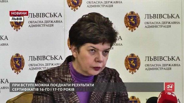 Завтра на Львівщині закінчується термін подання заяв на ЗНО
