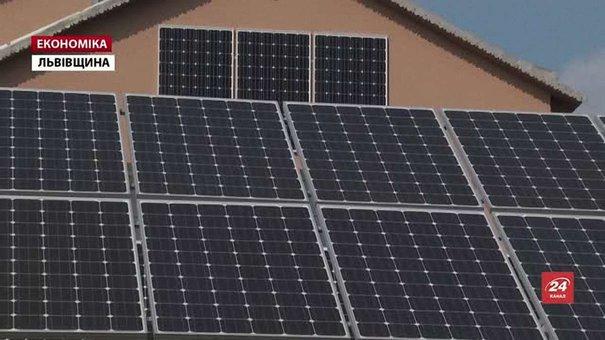 З початку року 24 мешканці Львівщини встановили на своїх будинках сонячні станції