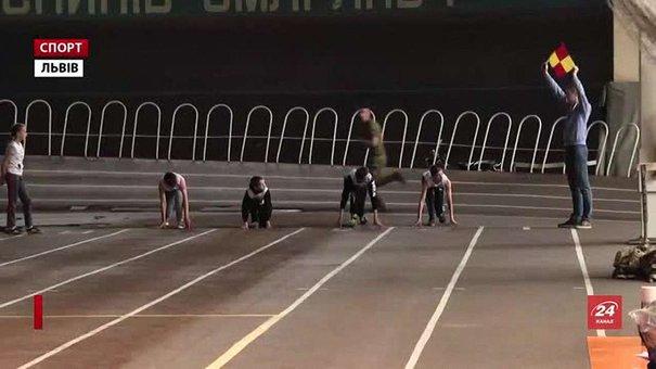 У Львові діти-інваспортсмени позмагалися на Спартакіаді з легкої атлетики