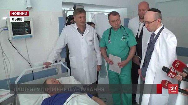 Провідний кардіолог з Ізраїлю консультував львівських пацієнтів