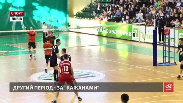 «Кажани» обмінялися перемогами з «Локомотивом» у фінальній серії Суперліги