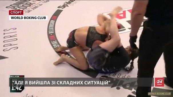 Олена Овчиннікова розповіла про дострокову перемогу над англійкою у бою з ММА