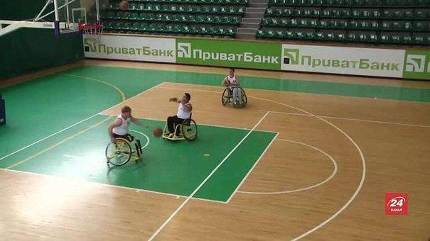 У Львові вперше відбувся турнір із баскетболу на візках