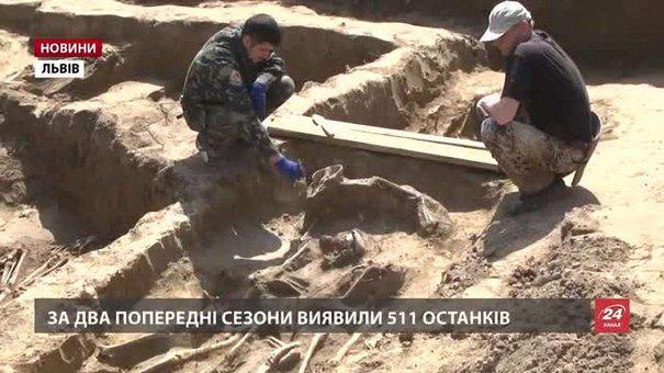 Ексгумовані останки жертв тоталітарного режиму перепоховають на Личаківському кладовищі