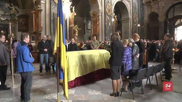 У Львові провели в останню путь відомого волонтера Богдана Дідича