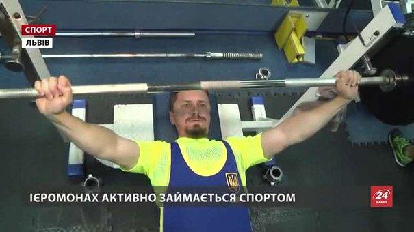 Настоятель Унівської лаври готується до Кубка світу із паверліфтингу