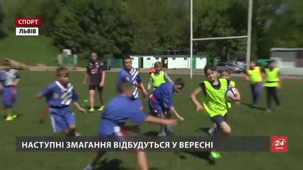 У перших змаганнях із регбі-5 взяло участь 12 шкільних команд Львова