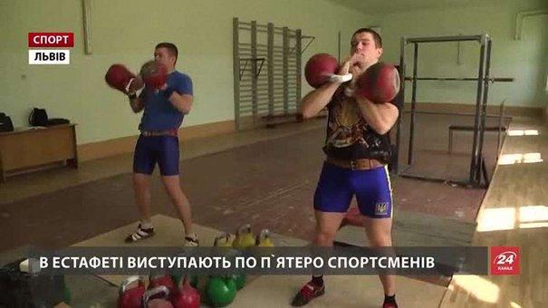Львівські гирьовики розповіли, як завоювали «золото» Європи в естафетах