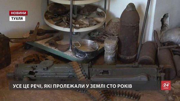 Засновник єдиного в Україні музею Героїв Маківки досі викопує із землі артефакти часів війни