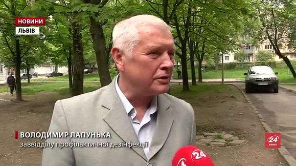 У Львові розпочали дезінфекцію сміттєвих майданчиків