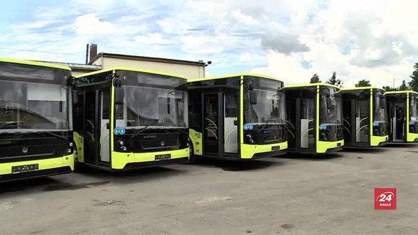 Львівське АТП-1 отримало останні сім нових автобусів «Електрон»