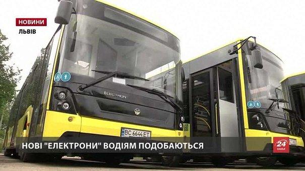 На нові «Електрони» в АТП-1 потрібні водії