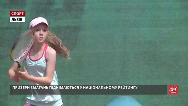 У Львові визначили переможців всеукраїнського тенісного турніру пам`яті Сильвестра Дмитріва