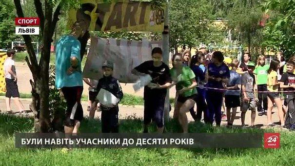 На Кубку Львівщини орієнтувальники шукали контрольні пункти між багатоповерхівками