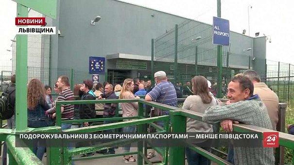 За два дні кордон із Польщею по безвізу перетнуло близько 1200 українців