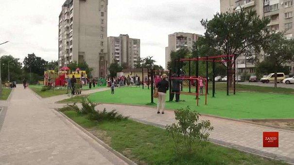 На Левандівці створили новий громадський простір