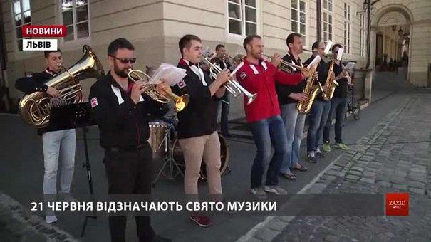 Львів відзначає Свято музики на 40 локаціях